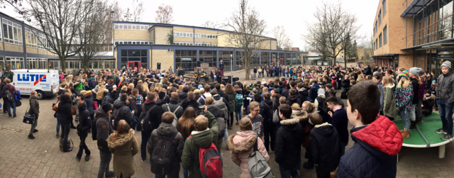 Flashmob Stand by me Panorama